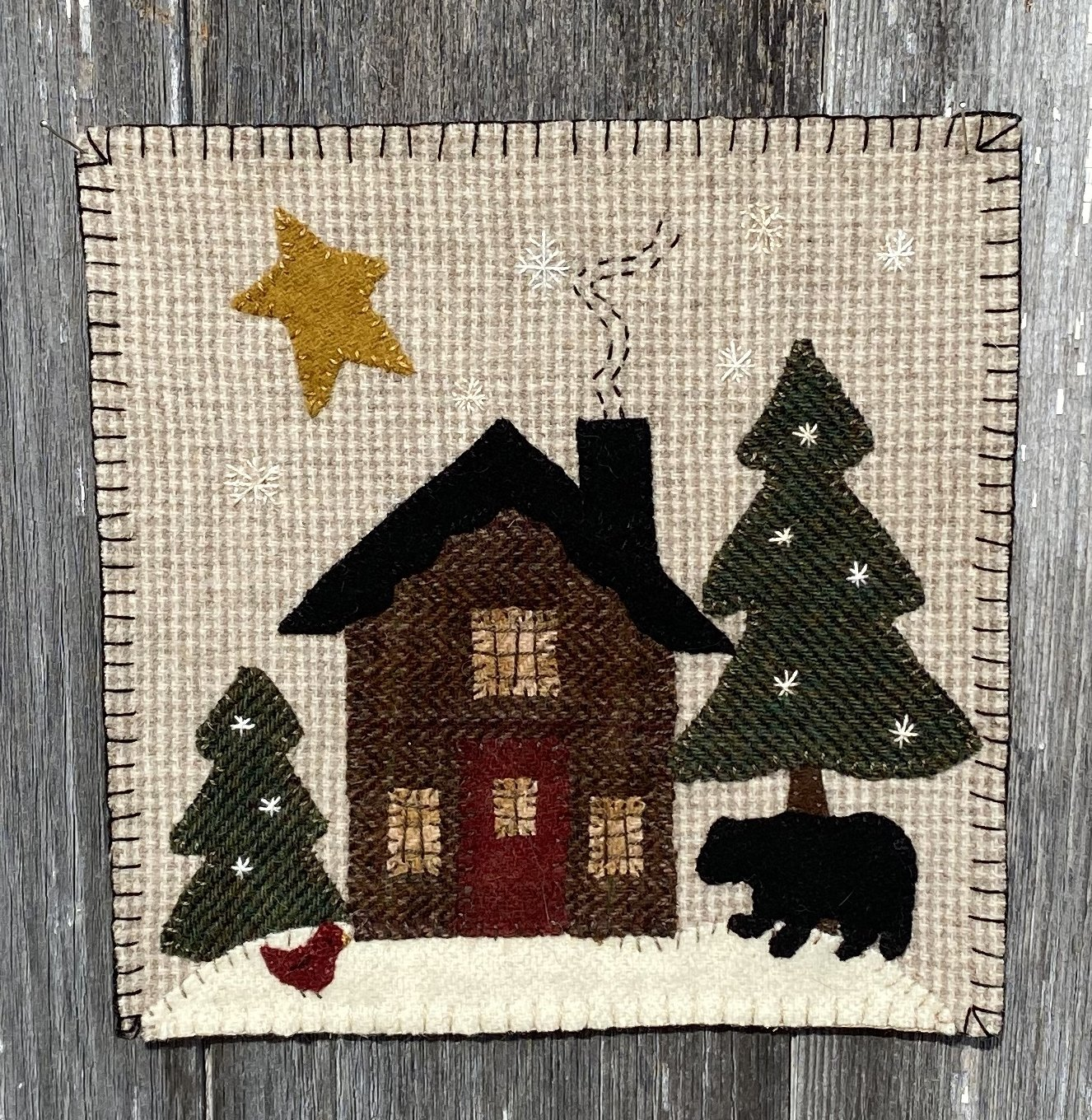 Wooly Block Adventure CABIN COUNTRY Kit