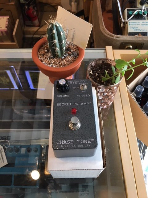Used CHASE TONE SECRET PREAMP