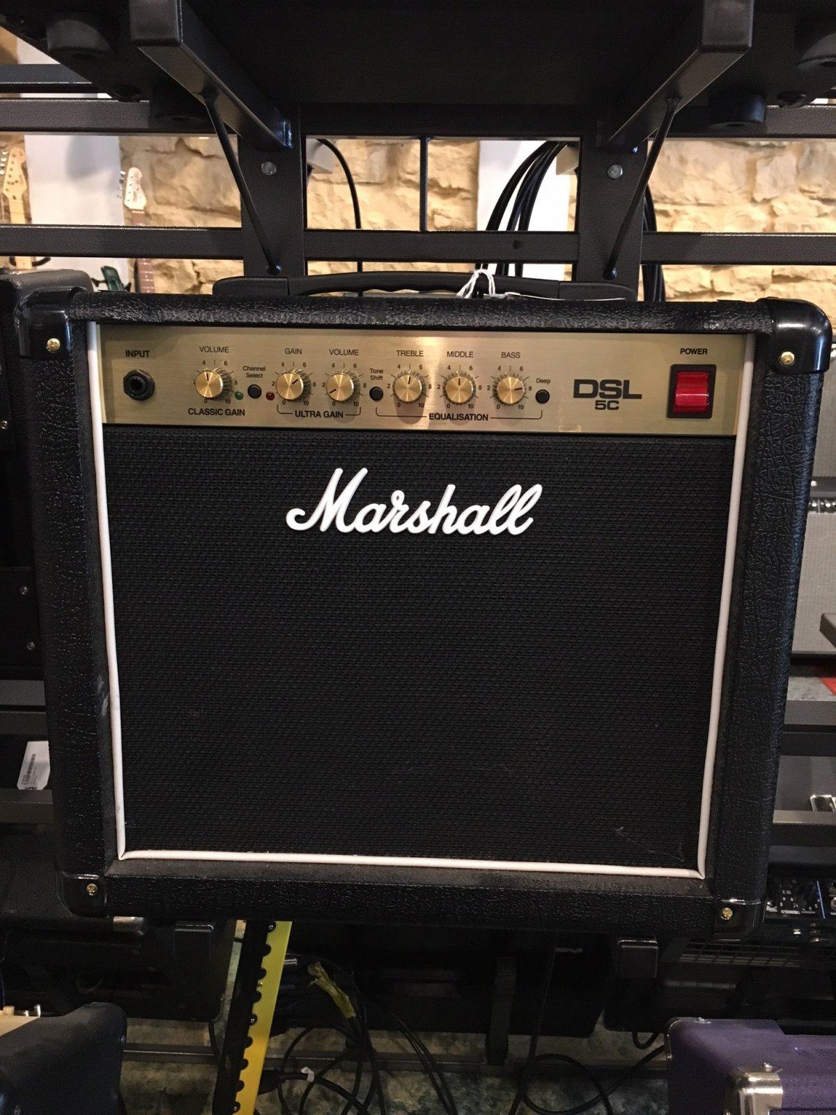 Used Marshall DSL5c