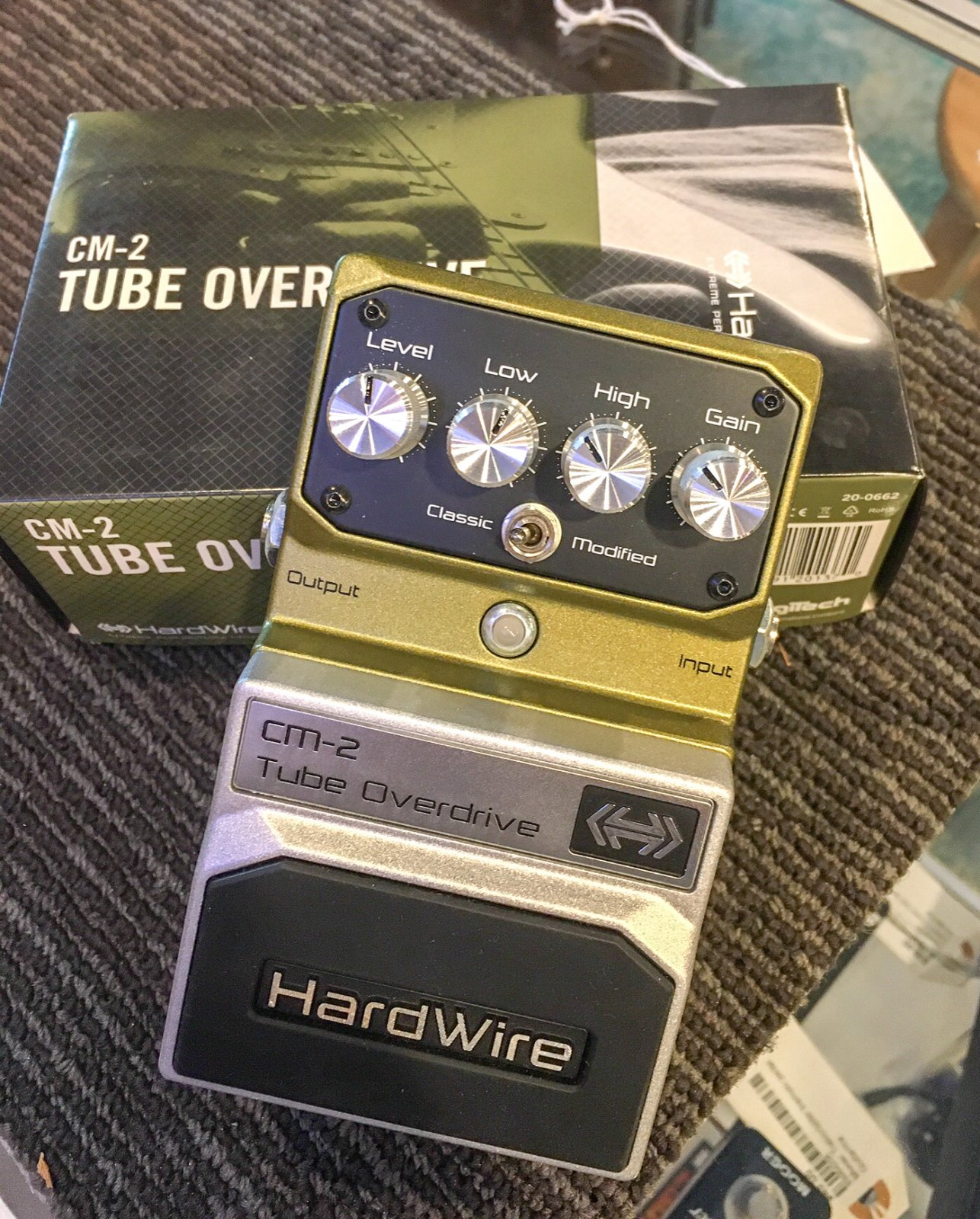 Hardwire CM-2 Tube Overdrive pedal