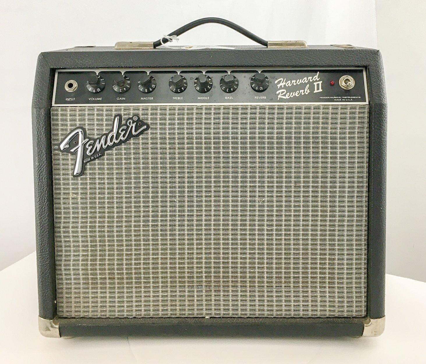 Vintage 80s Fender Harvard Reverb II