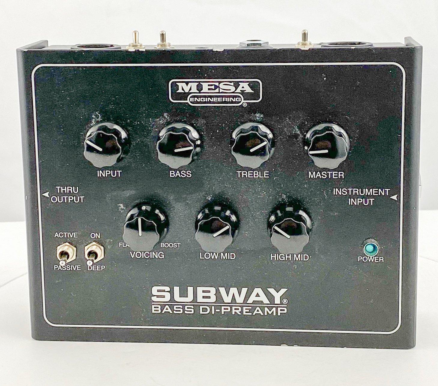 Mesa Boogie Subway DI Preamp