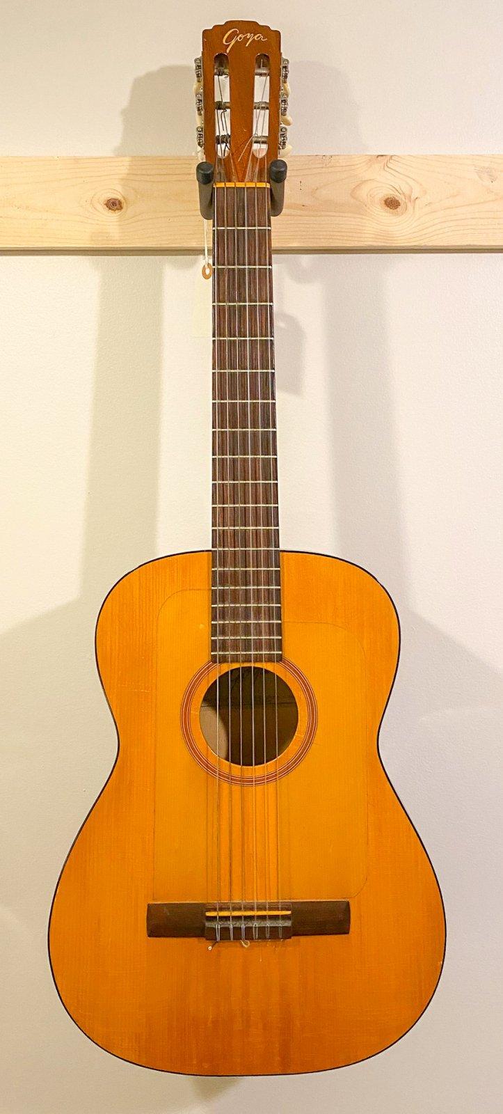 1966 Goya G-10 classical guitar