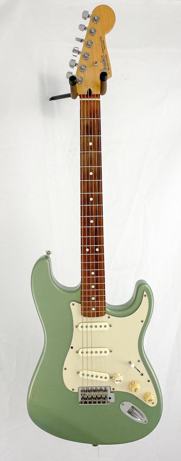 2002 Fender Standard Strat w/Fralin pickups + S1 switching -MIM