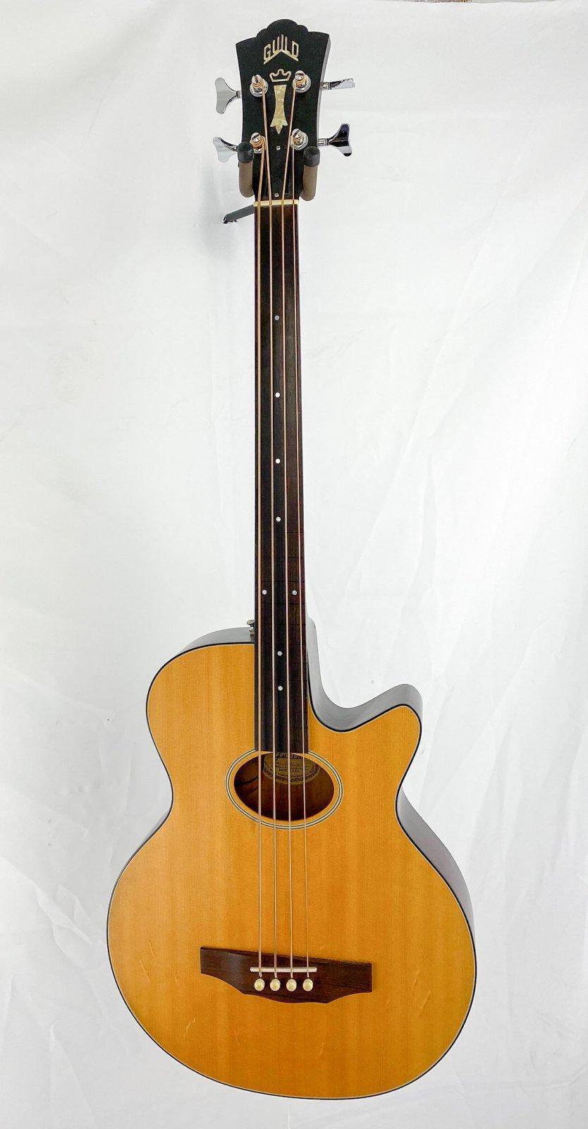 1993 Guild BRCE Acoustic/Electric Fretless Bass w/OHSC