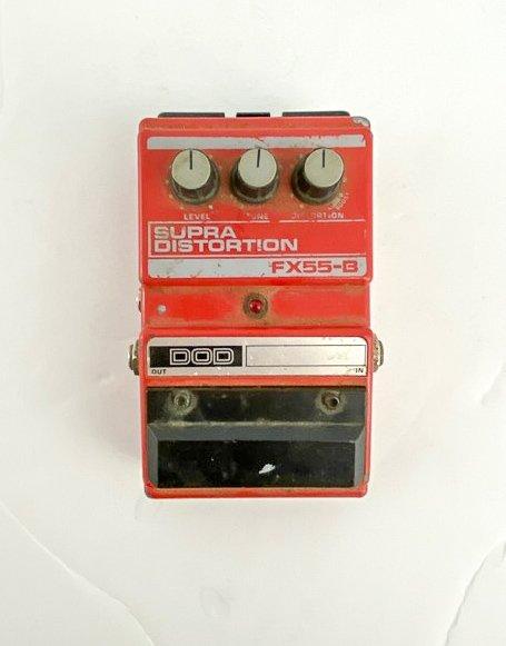 Vintage DOD FX55-B Supra Distortion Pedal