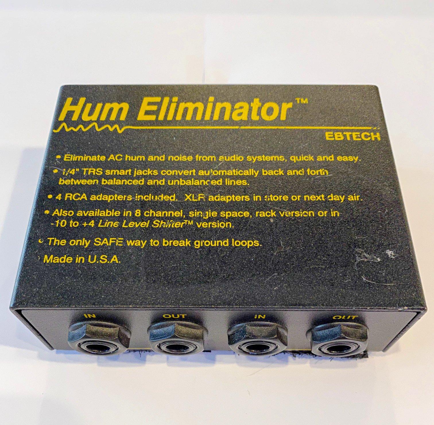 EBTECH Hum Eliminator