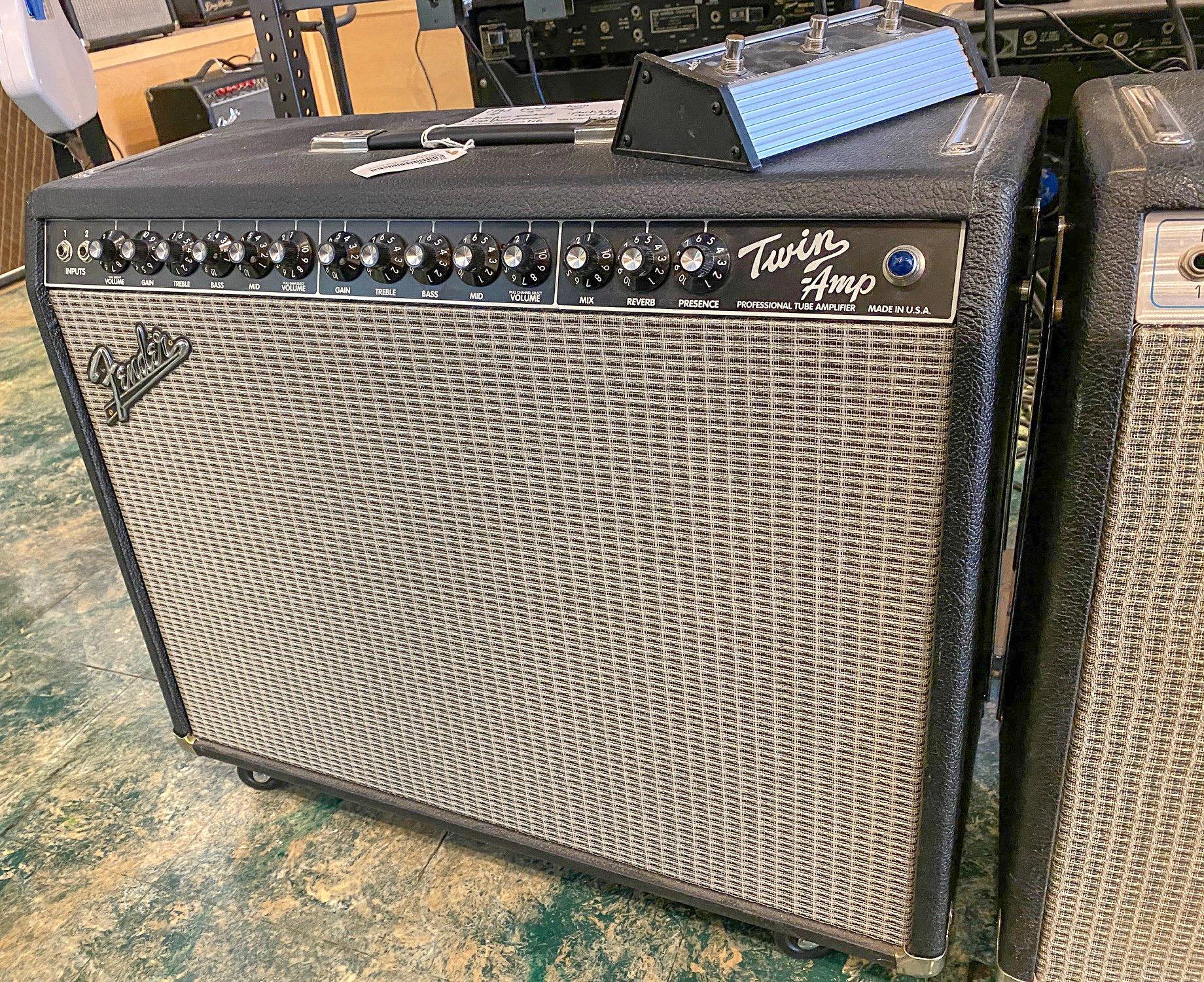 1992 Fender Evil Twin 2x12 combo