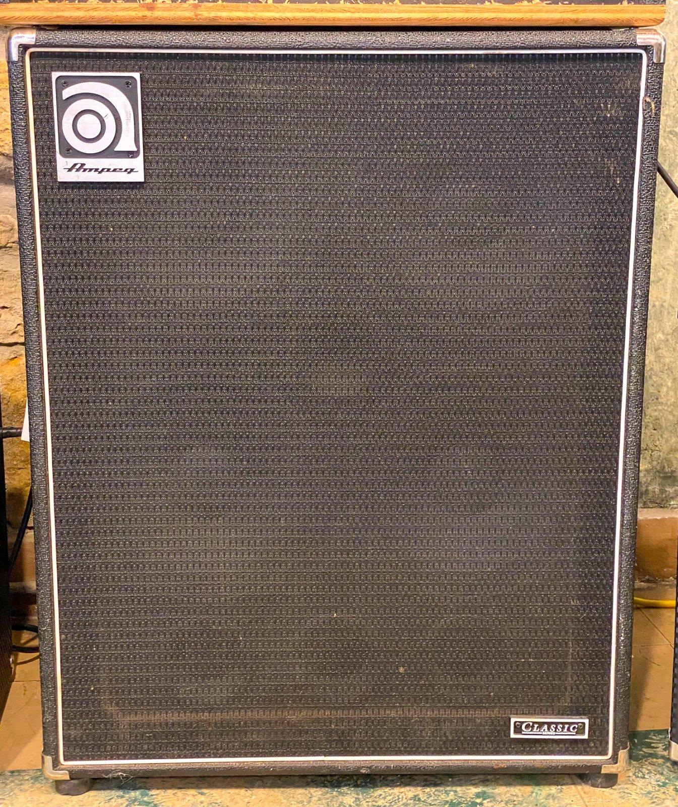 Ampeg SVT410HLF 4x10 bass cabinet
