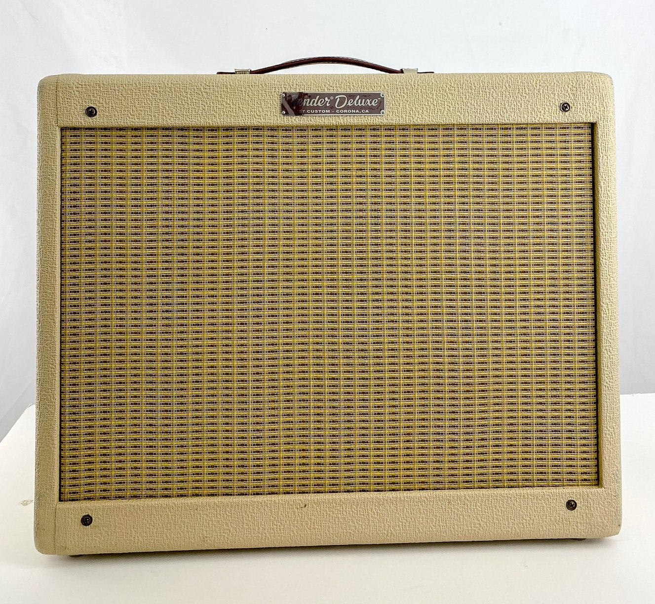 Fender Limited '57 Custom Deluxe 1x12 combo - blonde w/cover