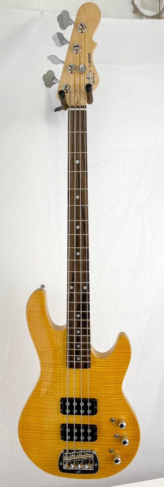 G&L L-2000 Tribute bass - carve top w/gigbag