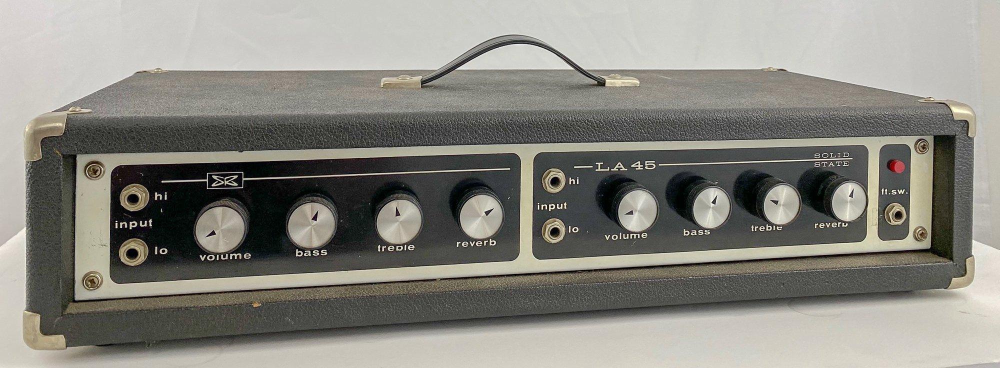 Vintage Sears LA-45 guitar amp head