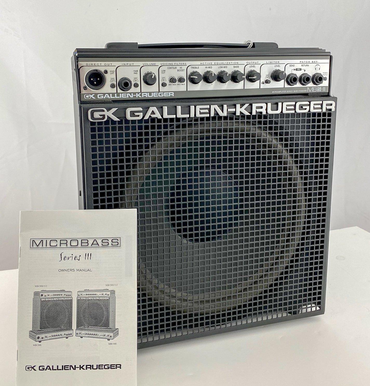 Gallien-Krueger MB150S 1x12 bass combo