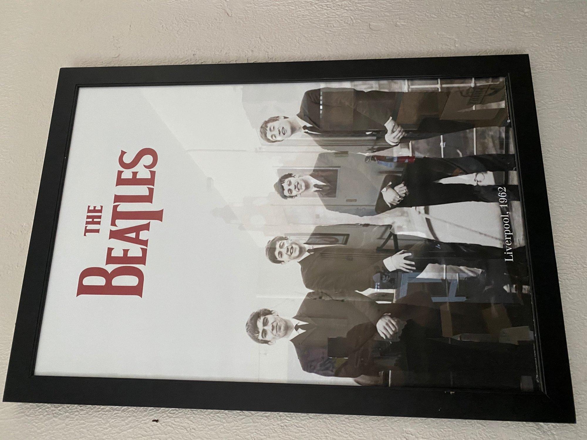 framed poster - Beatles! 5 styles