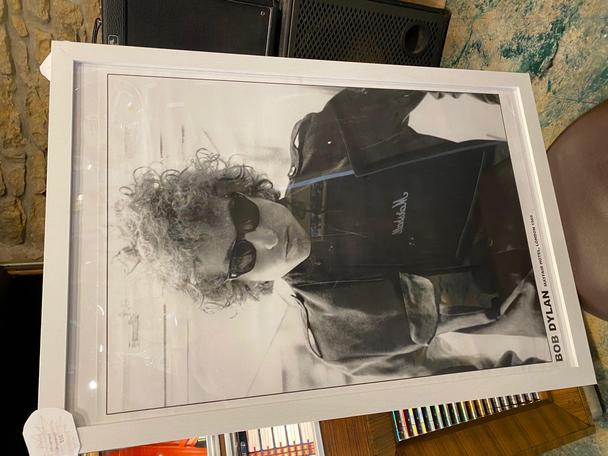 framed poster - Bob Dylan! 3 styles