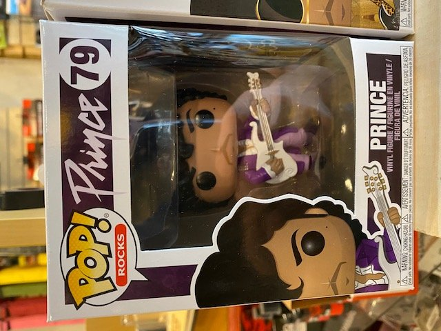 Prince Funko Pop! Rocks 79 Purple Rain