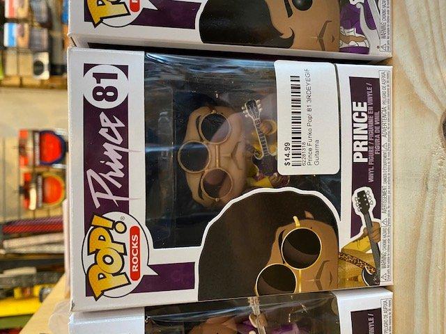Prince Funko Pop! 81 3RDEYEGIRL Prince (3.75