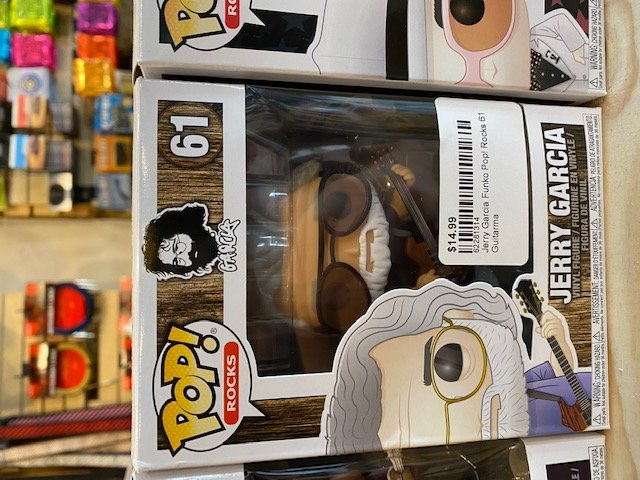 Jerry Garcia Funko Pop! Rocks 61 Jerry Garcia Vinyl