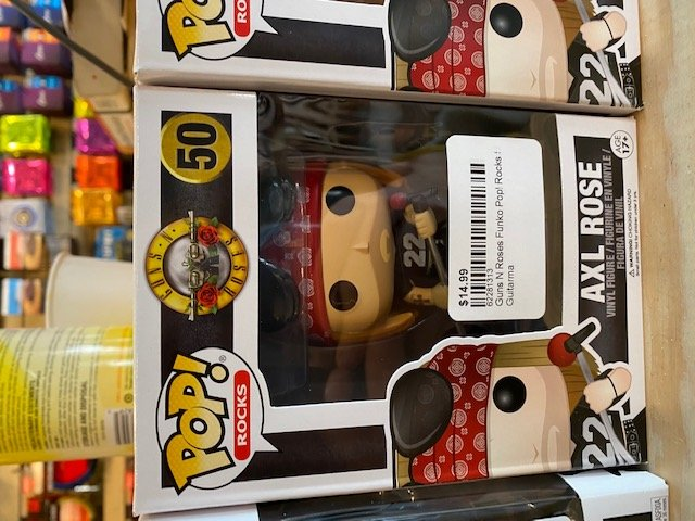 Guns N Roses Funko Pop! Rocks 50 Axl (3.75 Inches