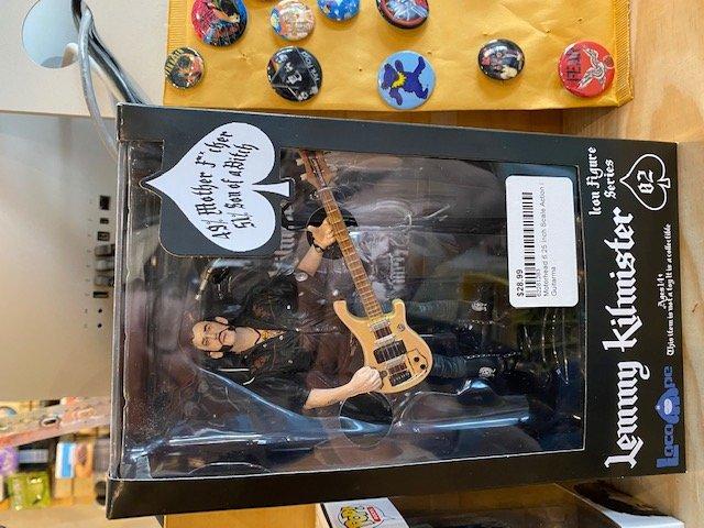Motorhead 6.25 Inch Scale Action Figure Lemmy