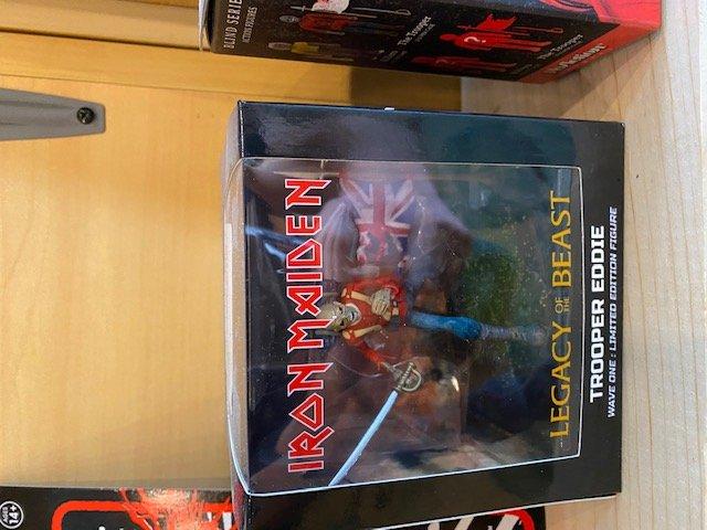 Iron Maiden 4 Inch Limited Edition Vinyl Figure Trooper