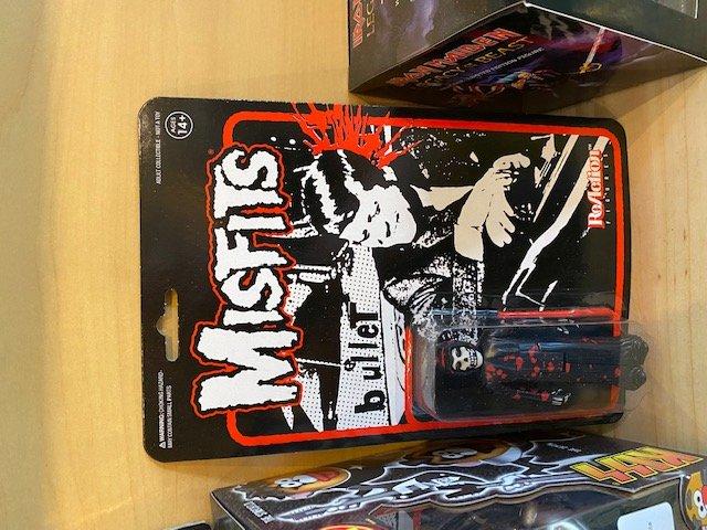 Misfits Bullet The Fiend 3.75 ReAction Figure