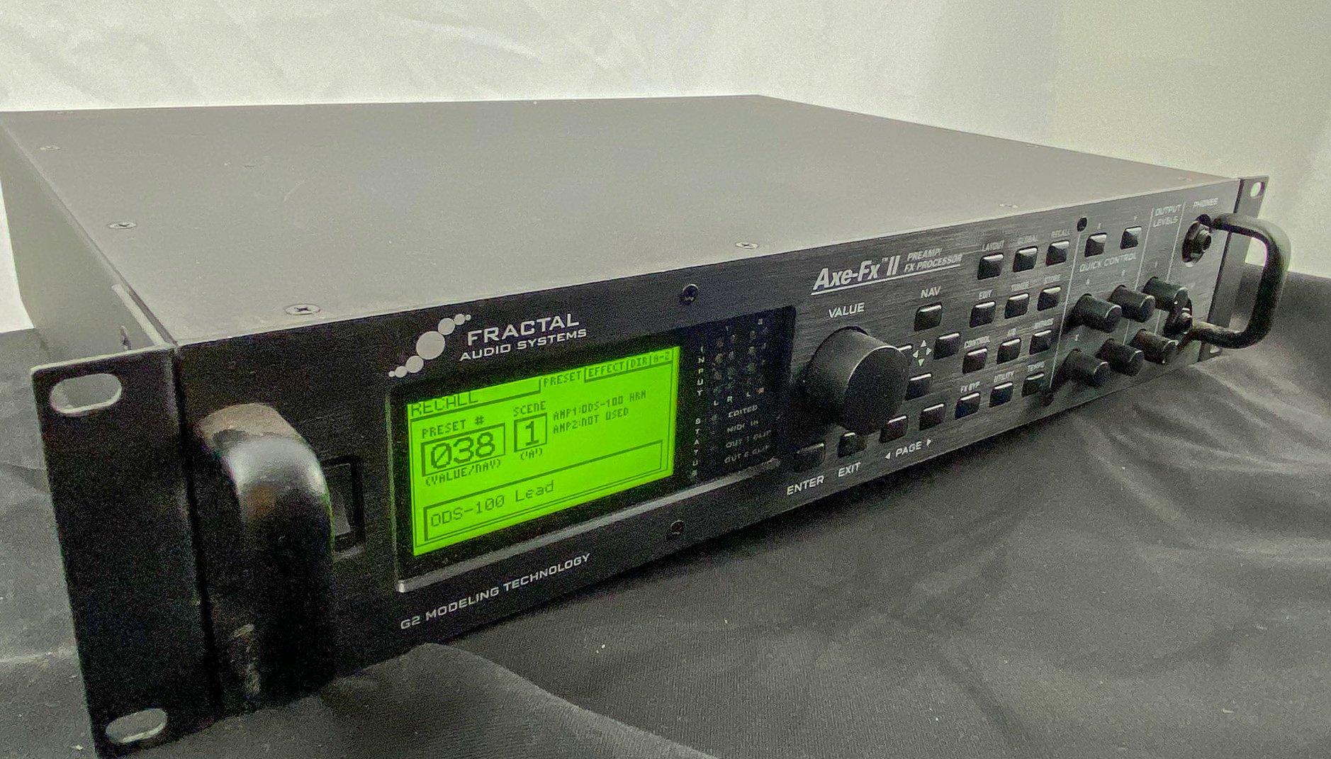Fractal Audio Axe FX II Mark I