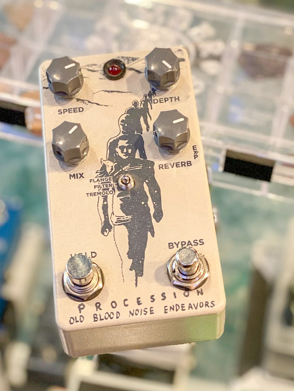 Old Blood Noise Endeavors Procession reverb pedal