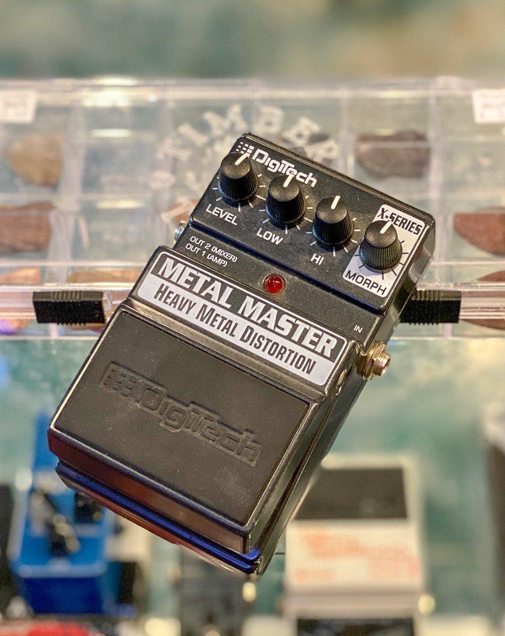 Digitech Metal Master distortion pedal