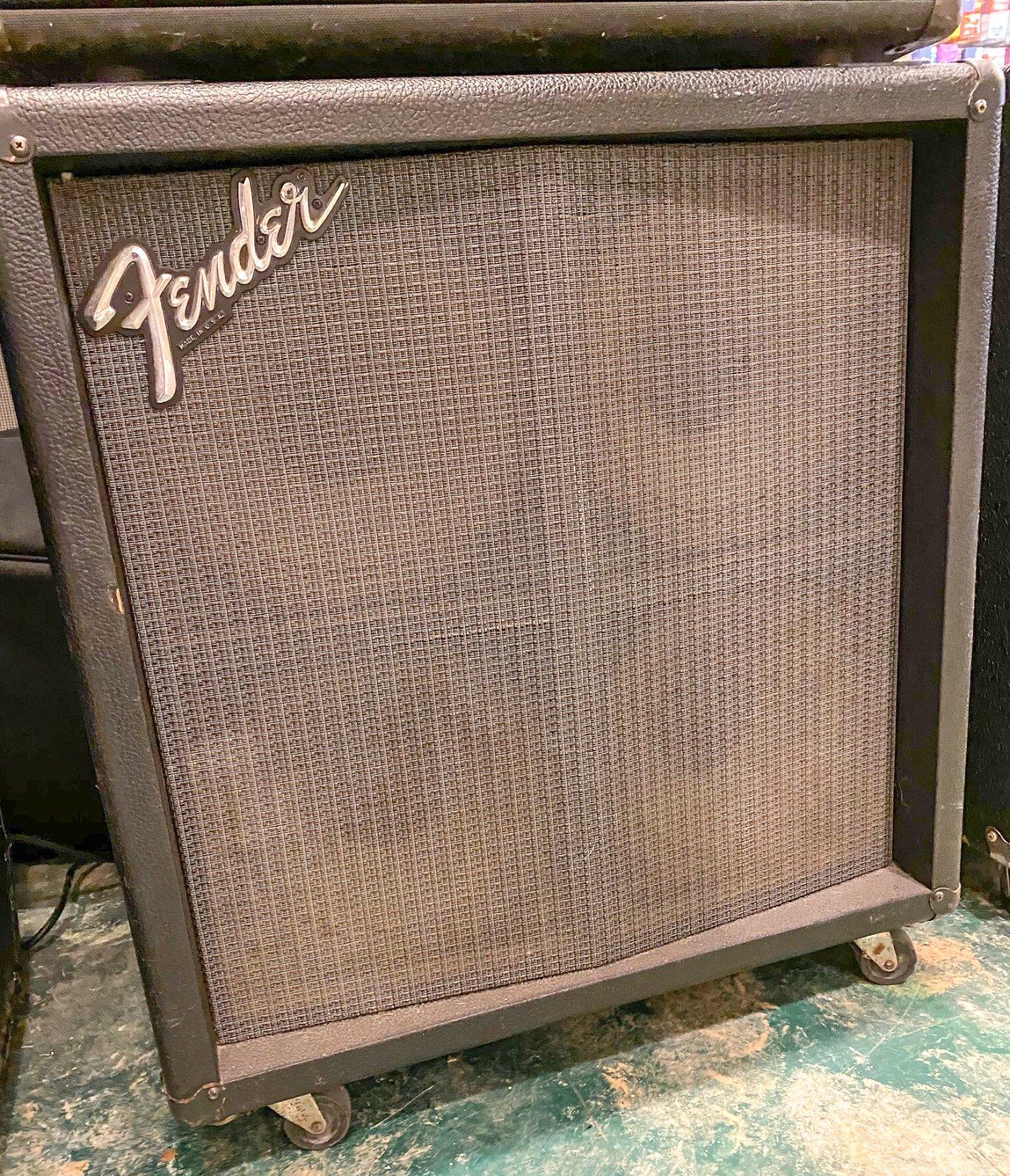 Vintage Fender 4x10 Guitar Cabinet