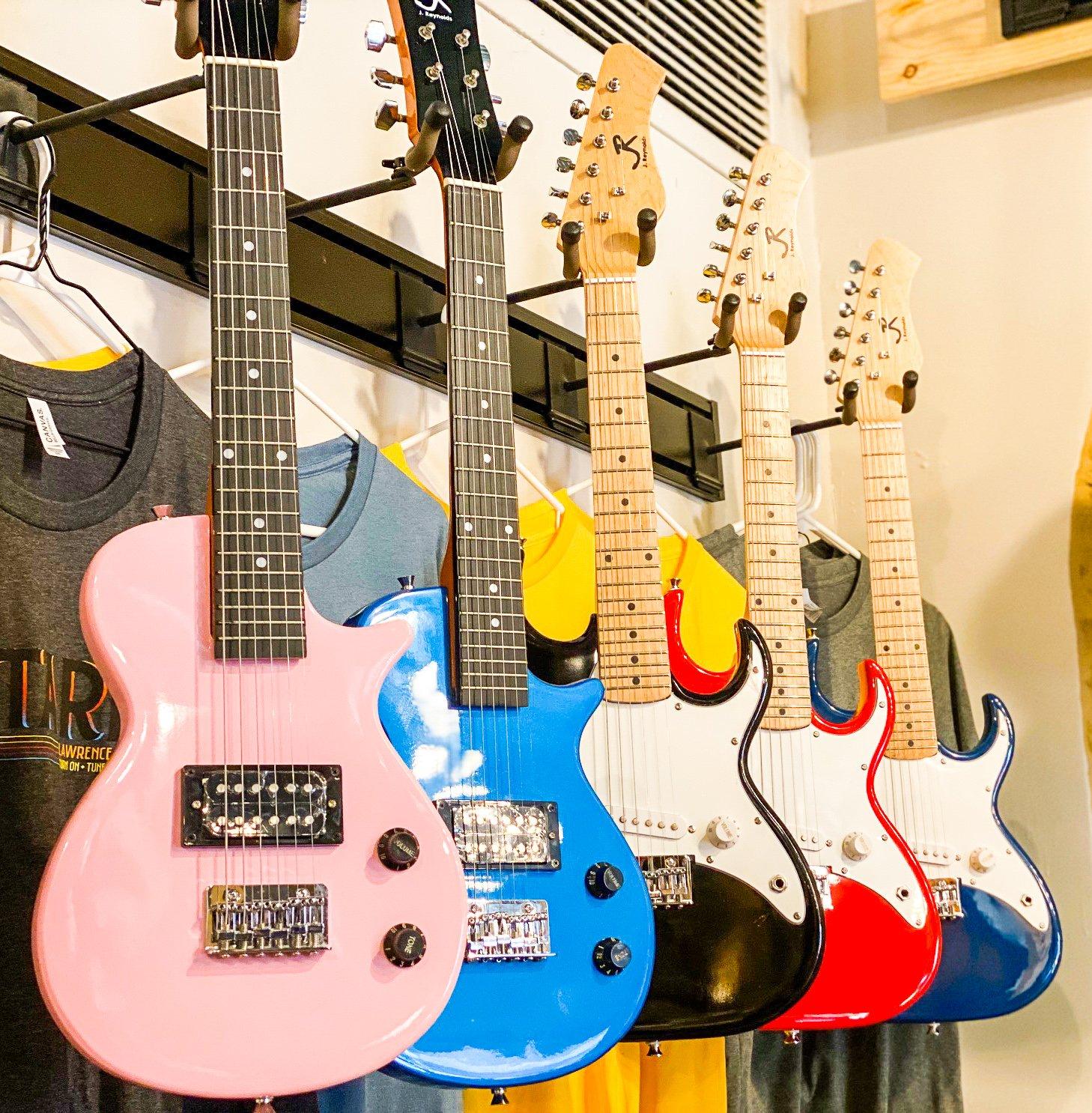 J. Reynolds Mini-Electric Guitar Pak - w/amp, strap, pics - 5 styles