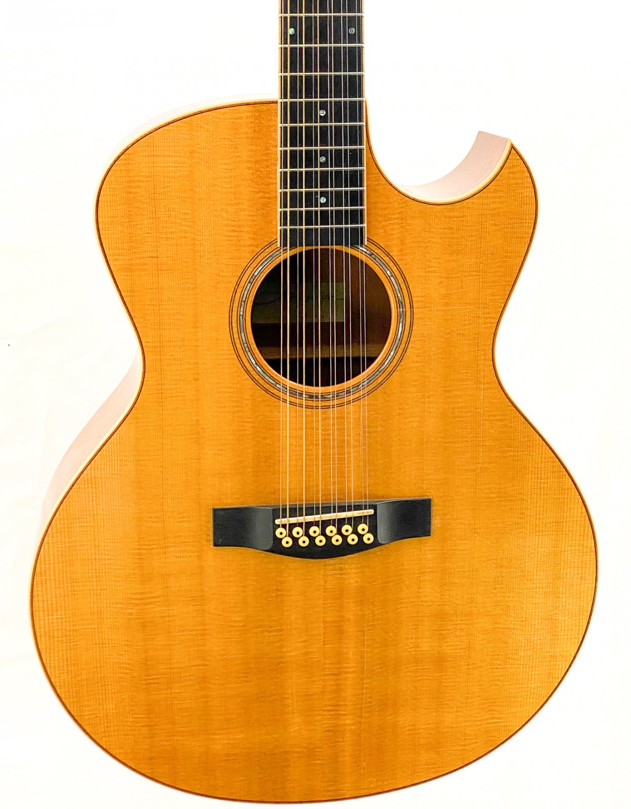 1998 Thompson T3M-C-12 Deluxe 12-string acoustic