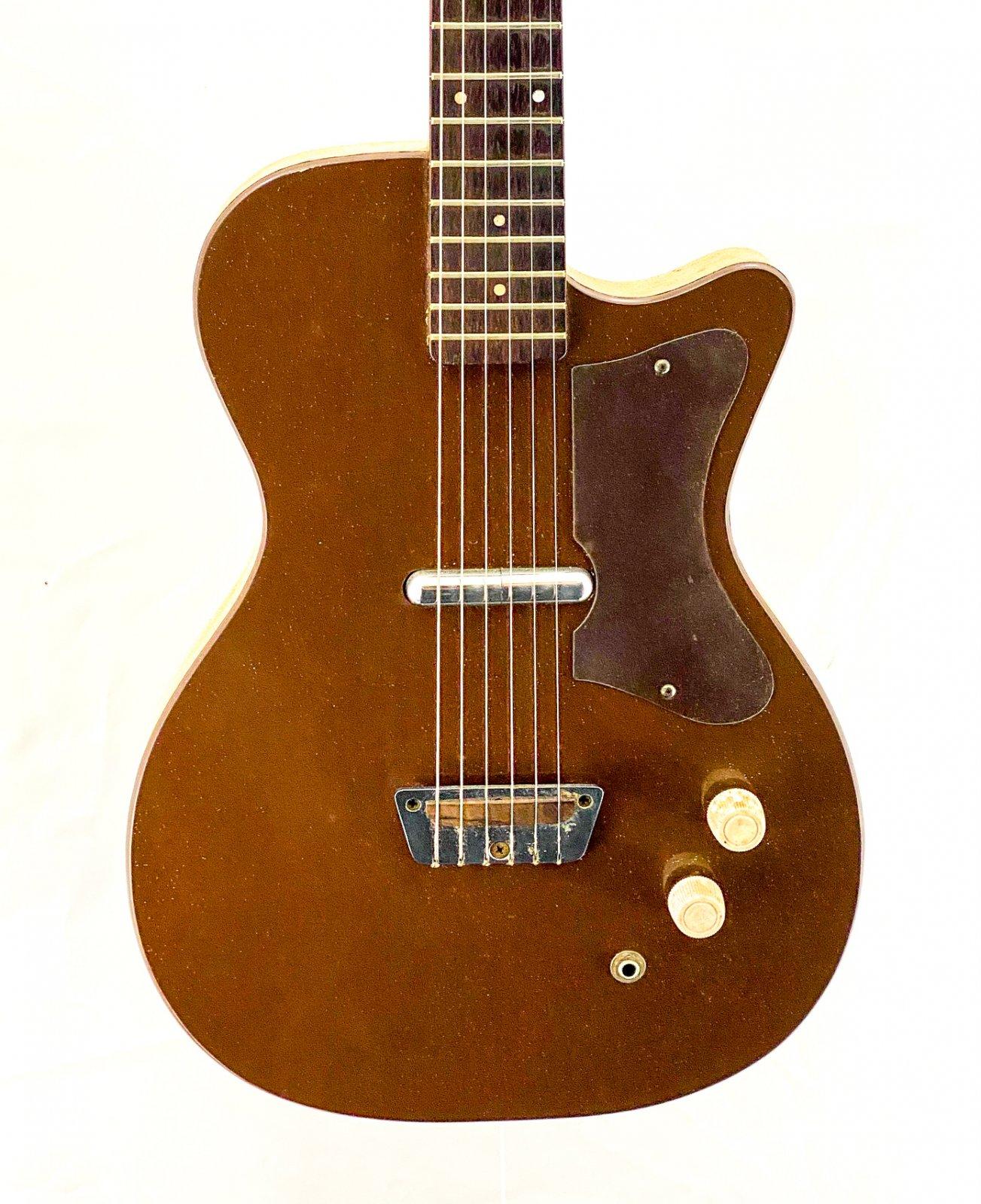 Vintage 1960 Silvertone 1304 U-1 - w/original case