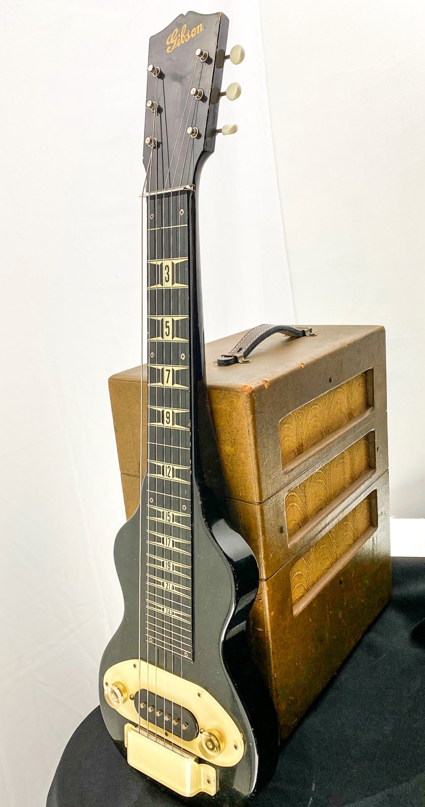 Vintage 1947 Gibson BR-6 lap steel & matching amp - w/OHSC