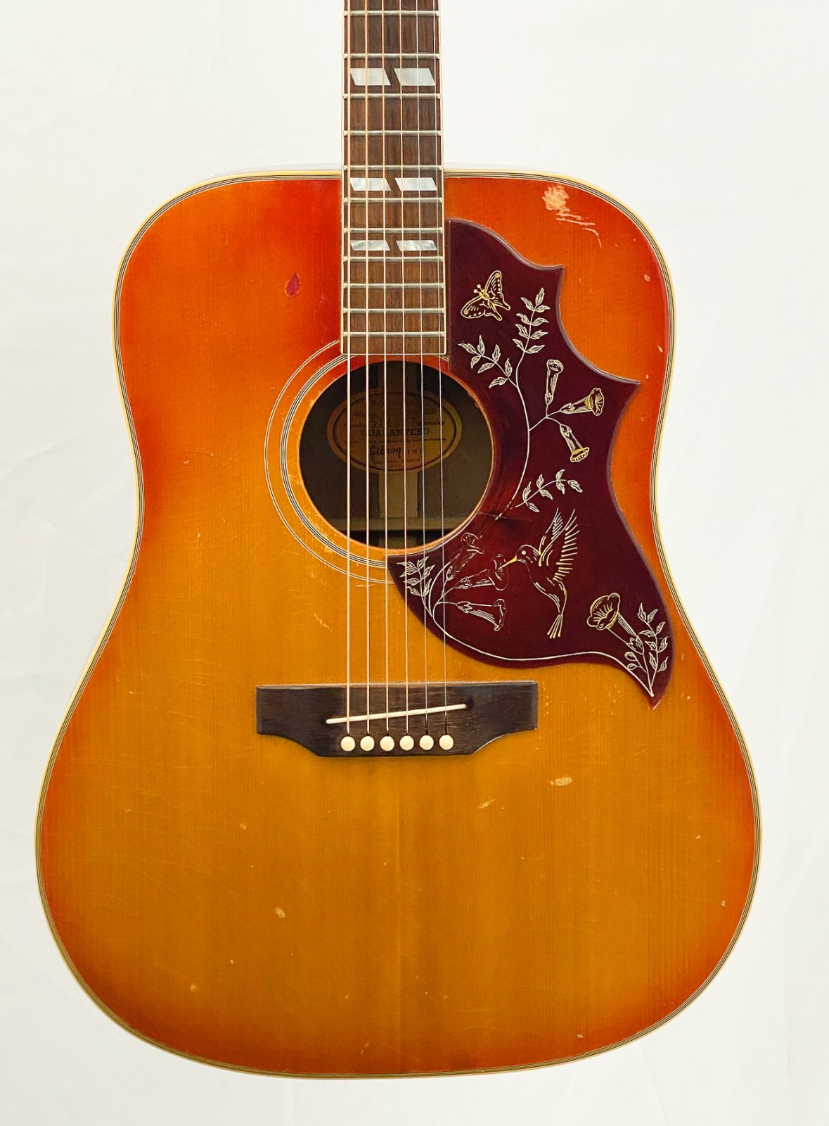 Vintage mid-60s Gibson Hummingbird - w/HSC
