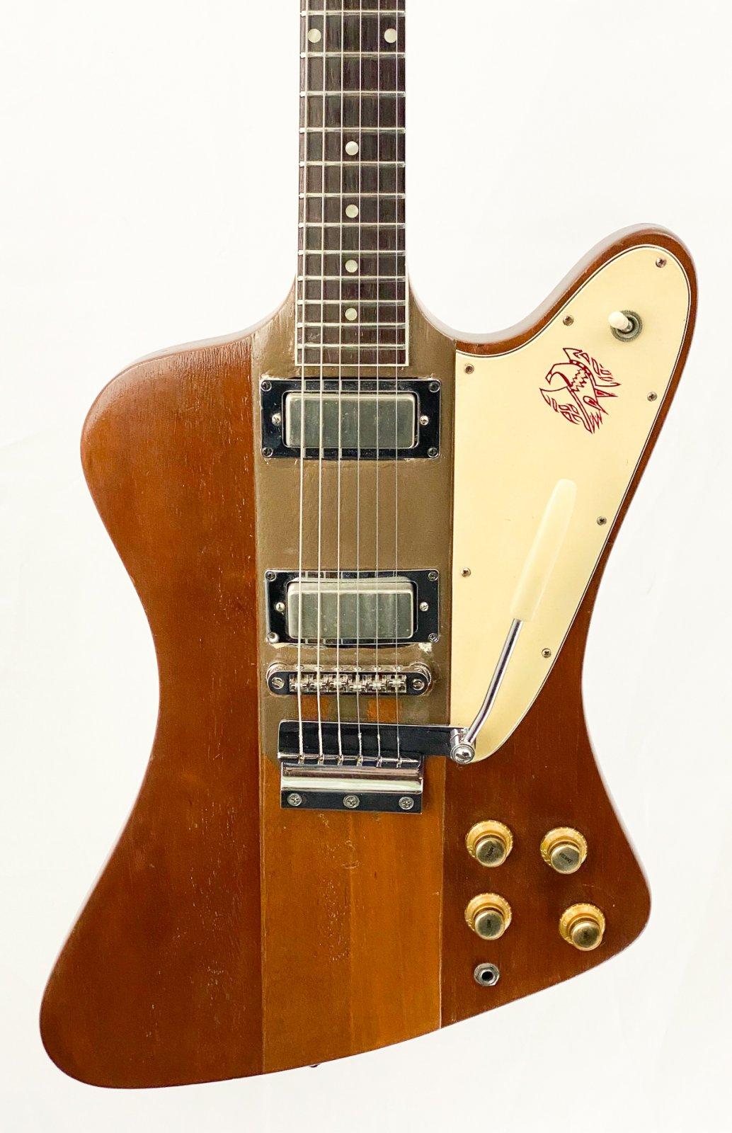 Vintage 1963 Gibson Firebird III - reverse body, neck through w/HSC