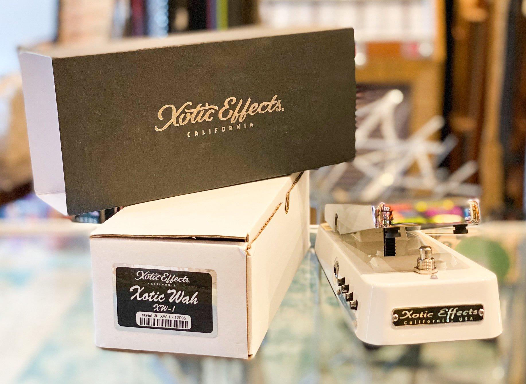 Xotic XW-1 wah pedal - w/original box, manuals