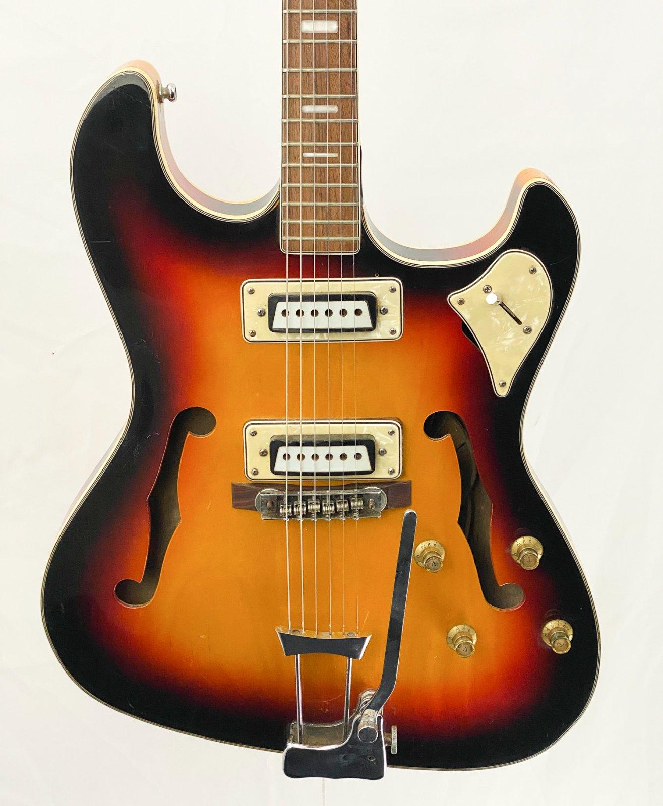Vintage 60s Aria/Toledo 1202T hollow body - MIJ