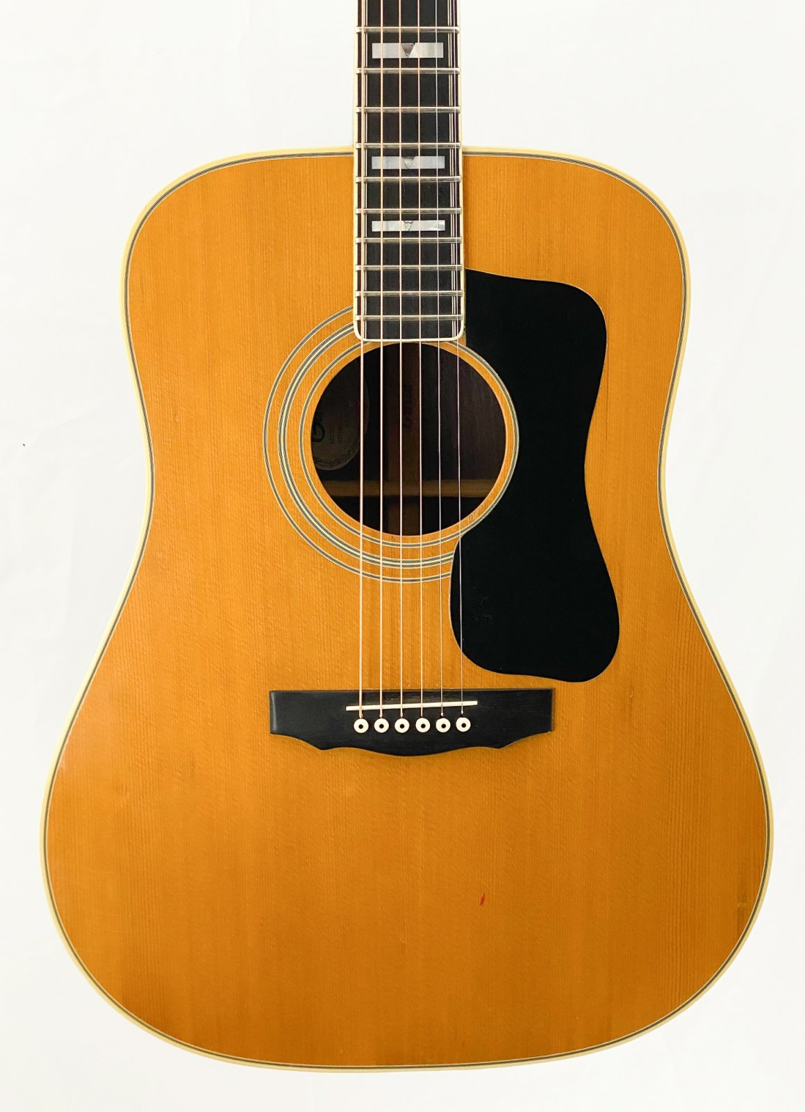 Vintage 1978 Guild D55 acoustic w/OHSC