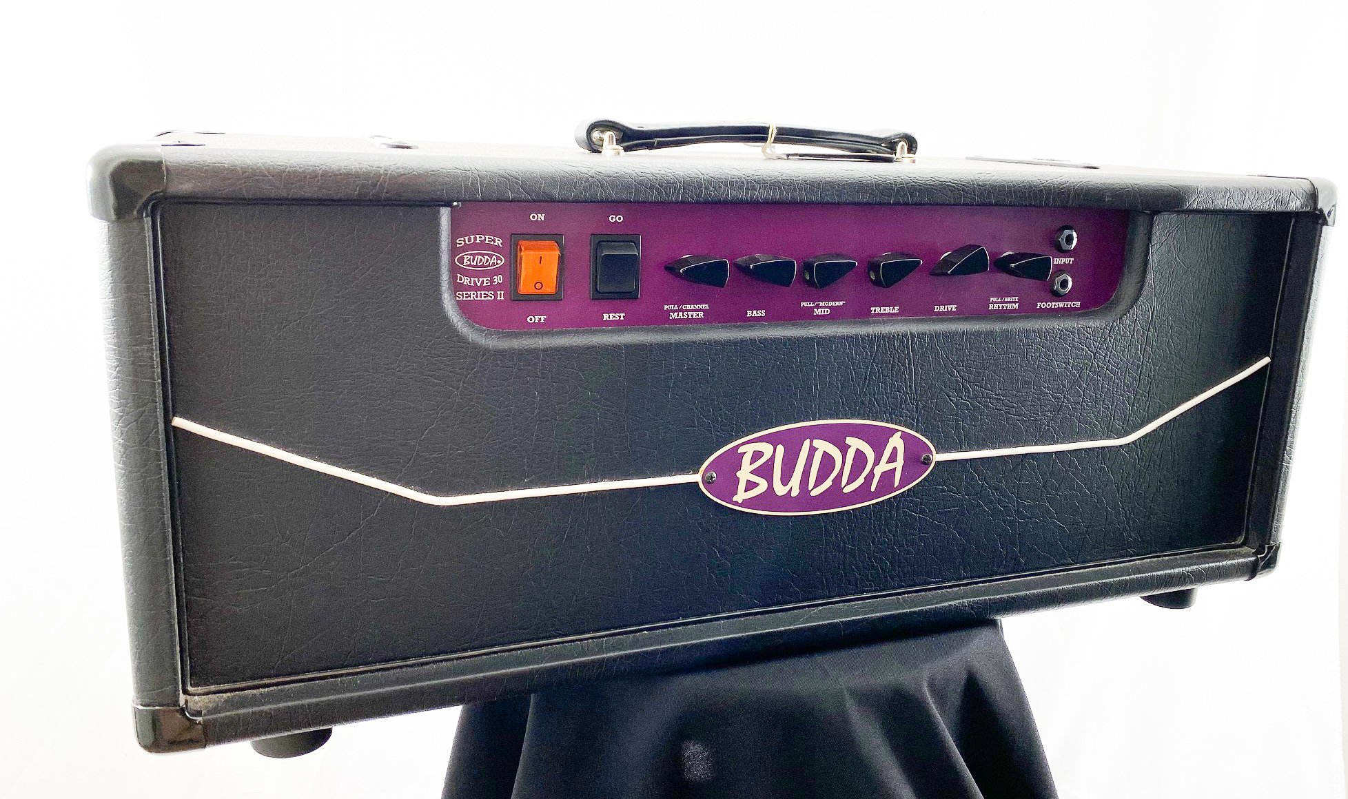 Budda SuperDrive 30 head - w/cover, footswitch