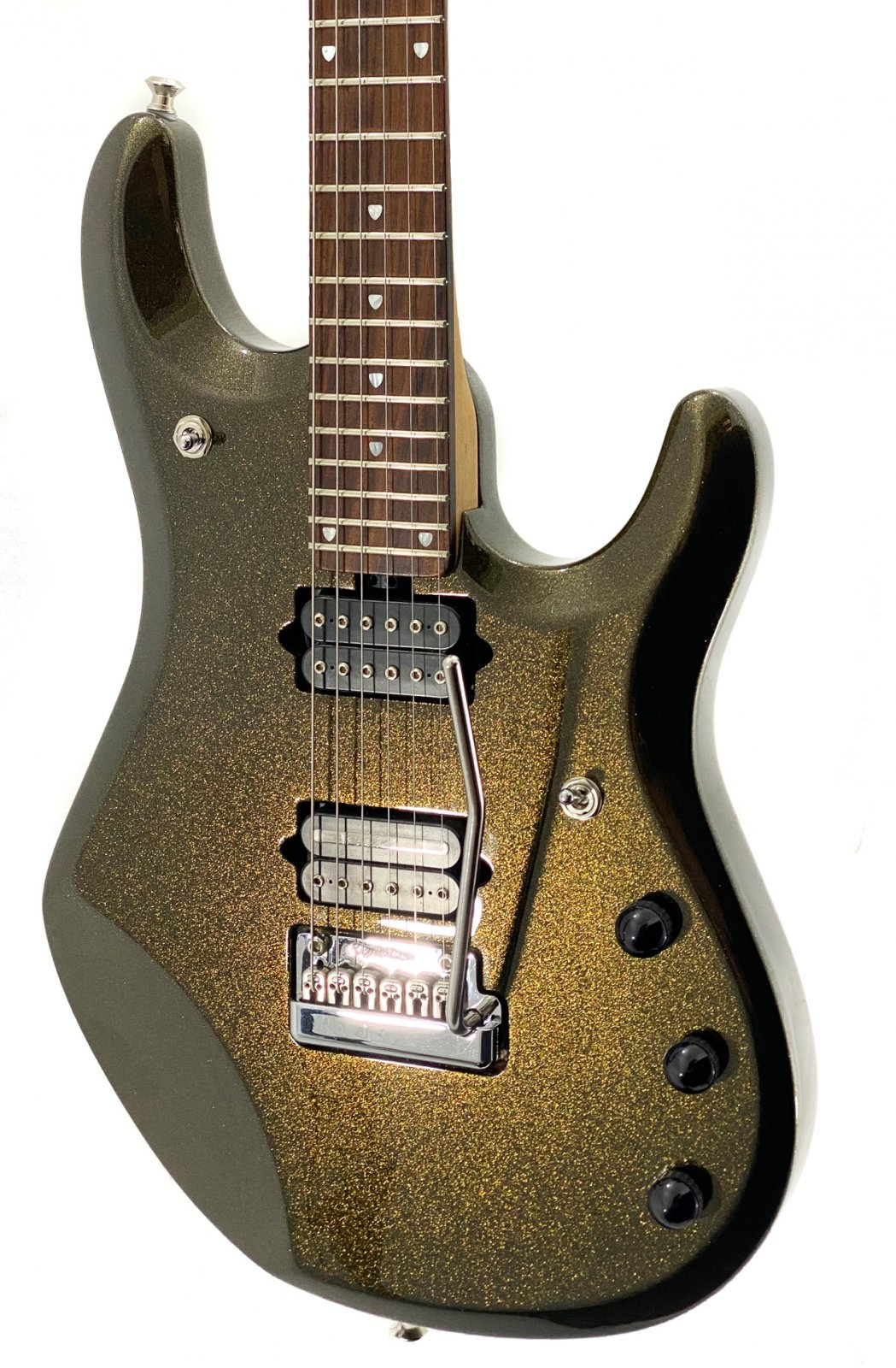 2008 Ernie Ball Music Man JP6 - Olive Gold w/OHSC