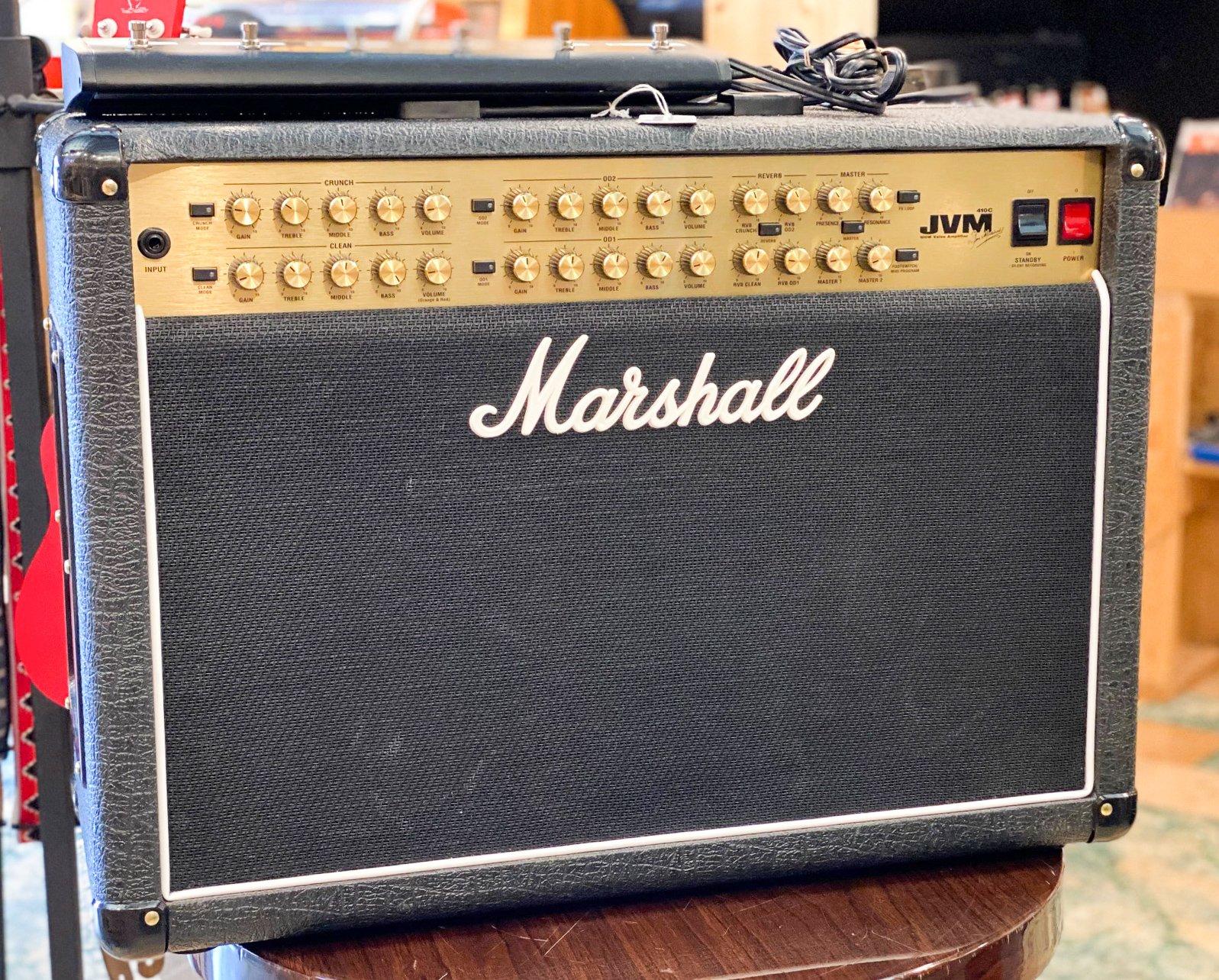 Marshall JVM 410C 2x12 combo w/Celestion Neo Creambacks