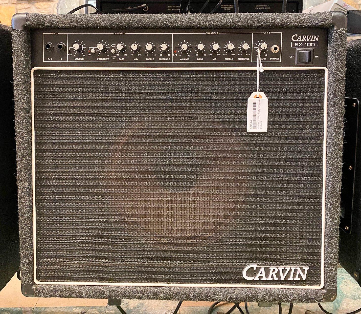 Carvin SX-100 w/Crate 12 speaker