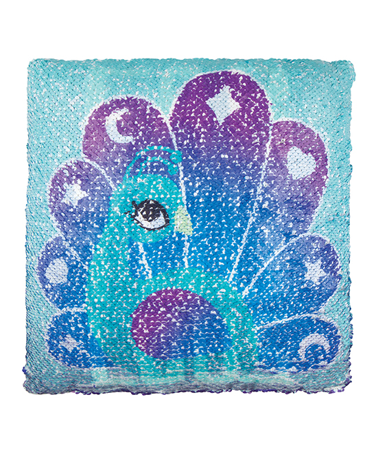 Magic Sequin Printed Pillow - FAB YOU LOUS