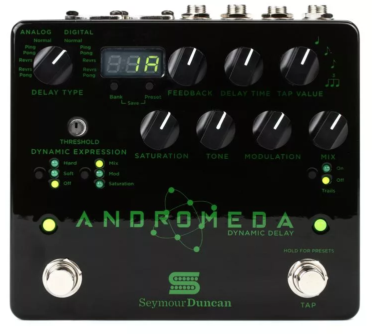 Andromeda Dynamic Digital Delay Pedal