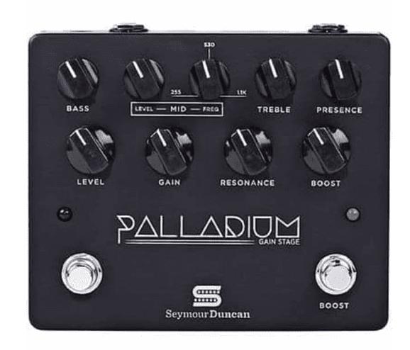 Black Palladium Gain Stage Pedal