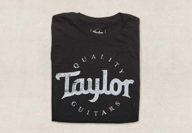 Taylor Distressed Logo T-Shirt Men's