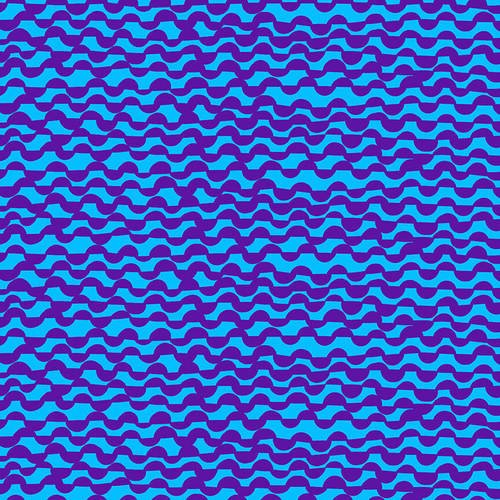 Point of Hue Wavy Lines 9994