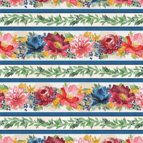 Wilmington Prints Garden Charm 83302