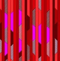 Studio E All Lined Up Diagonal Blocks Stripe